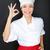 жест · совершенство · привлекательный · счастливым · женщину - Сток-фото © maridav