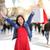 ショッピング · 女性 · 幸せ · ラ · 通り · バルセロナ - ストックフォト © Maridav