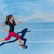 athlete runner woman running on athletic run track stock photo © maridav
