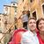 romântico · viajar · casal · Veneza · barco · romance - foto stock © maridav