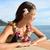 Hawaii · Waikiki · utazás · virág · nyaklánc · ikon - stock fotó © maridav