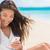happy smartphone woman listening streaming music stock photo © maridav