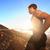 atleta · corrida · esportes · fitness · corredor · deserto - foto stock © maridav