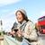 Londres · touristiques · femme · tourisme · photos - photo stock © Maridav