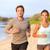 fitness · paar · jogging · buiten · strand · glimlachend - stockfoto © Maridav