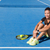 tennis player woman wearing sports smartwatch stock photo © maridav