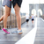 running couple jogging in new york city stock photo © maridav