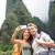 casal · caminhadas · Havaí · foto - foto stock © maridav