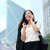 business woman talking on phone outdoor hong kong stock photo © maridav