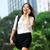 iş · kadını · mutlu · başarı · açık · Hong · Kong - stok fotoğraf © maridav