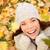 najaar · vrouw · gelukkig · kleurrijk · vallen · bladeren - stockfoto © Maridav