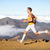 runner man athlete running sprinting fast stock photo © maridav