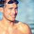 homem · piscina · moço · esportes · trem - foto stock © maridav