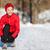 loopschoenen · vrouw · schoen · klaar · fitness · vrouw - stockfoto © maridav