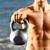 фитнес · человека · осуществлять · гири · здорового - Сток-фото © maridav