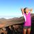 portret · jonge · moe · asian · fitness · vrouw · permanente - stockfoto © maridav