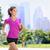 run woman exercising in central park new york city stock photo © maridav