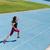 runner sprinting towards success on running track stock photo © maridav
