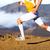 fut · sport · futó · férfi · nyom · fut - stock fotó © maridav