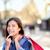 feliz · mulher · pensando · sorridente - foto stock © maridav