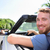 adam · sakal · sürücü · araba · şık · zengin - stok fotoğraf © maridav