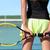 tennis player holding racquet on outdoor court stock photo © maridav