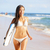 surf · internaute · femme · babe · plage · amusement - photo stock © maridav