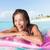 spiaggia · donna · ridere · divertimento · estate - foto d'archivio © maridav
