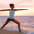 瞑想 · ヨガ · 女性 · ビーチ · 瞑想 · 海 - ストックフォト © maridav
