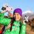természetjáró · lány · néz · fotó · kamera · ázsiai - stock fotó © maridav