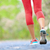 woman with athletic legs jogging and running stock photo © maridav