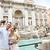 trevifontein · Rome · Italië · nacht · afbeelding · Blauw - stockfoto © maridav