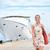 vacaciones · crucero · blanco · puerto · Turquía · océano - foto stock © maridav