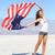feliz · mujer · americano · día · celebración - foto stock © maridav