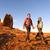 wandelaars · bergen · genieten · schilderachtig · natuur - stockfoto © maridav
