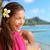 женщину · питьевой · алкоголя · пить · Гавайи · пляж - Сток-фото © maridav
