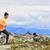 atleta · corredor · camino · ejecutando · montana · naturaleza - foto stock © maridav