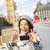 travel tourist in london taking selfie photo stock photo © maridav
