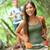 ázsiai · nő · természetjáró · kirándulás · ősz · erdő - stock fotó © maridav