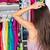 organisé · placard · vêtements · maison · maison · meubles - photo stock © maridav