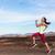 fiatal · nő · testmozgás · kint · csinos · fitnessz · nyár - stock fotó © maridav