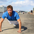 sport fitness man push ups stock photo © maridav
