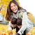 азиатских · осень · женщину · осень · листьев - Сток-фото © maridav