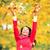 dziewczyna · ręce · piękna · jesienią · liści - zdjęcia stock © maridav