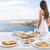 Avrupa · seyahat · yaz · hedef · santorini · adası · turist - stok fotoğraf © maridav