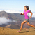 female running athlete   woman trail runner stock photo © maridav