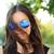 vicces · boldog · portré · ázsiai · nő · visel - stock fotó © maridav