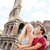 tourist couple in rome by coliseum on travel stock photo © maridav