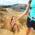 trabajo · en · equipo · Pareja · escalada · confianza · ayudar - foto stock © maridav