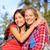 女性 · 若い女の子 · 屋外 · 笑い · 草 - ストックフォト © maridav